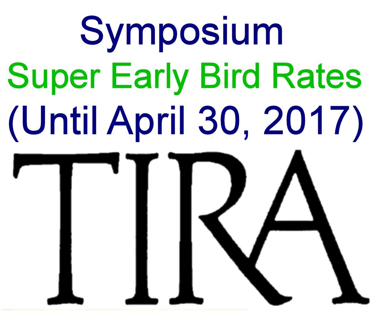 Symposium  Super Early Bird