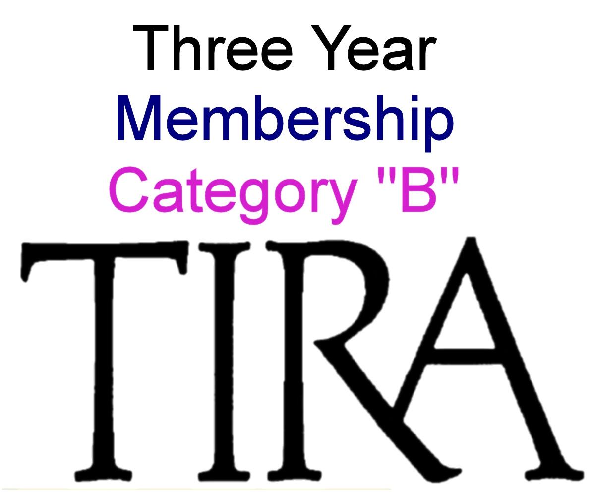 """Cat  """"B"""" member 3 years - No Gift"""