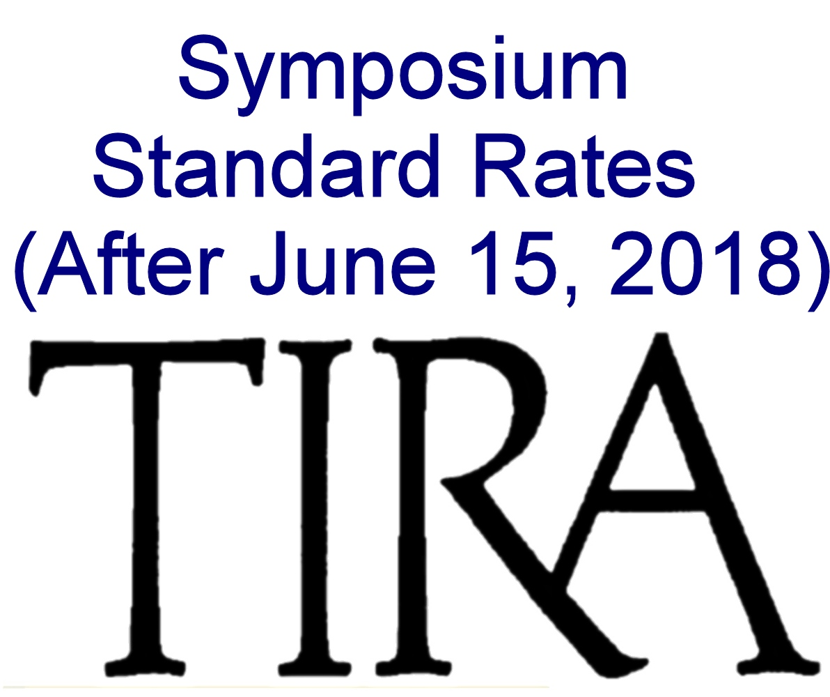 Symposium Standard Rate