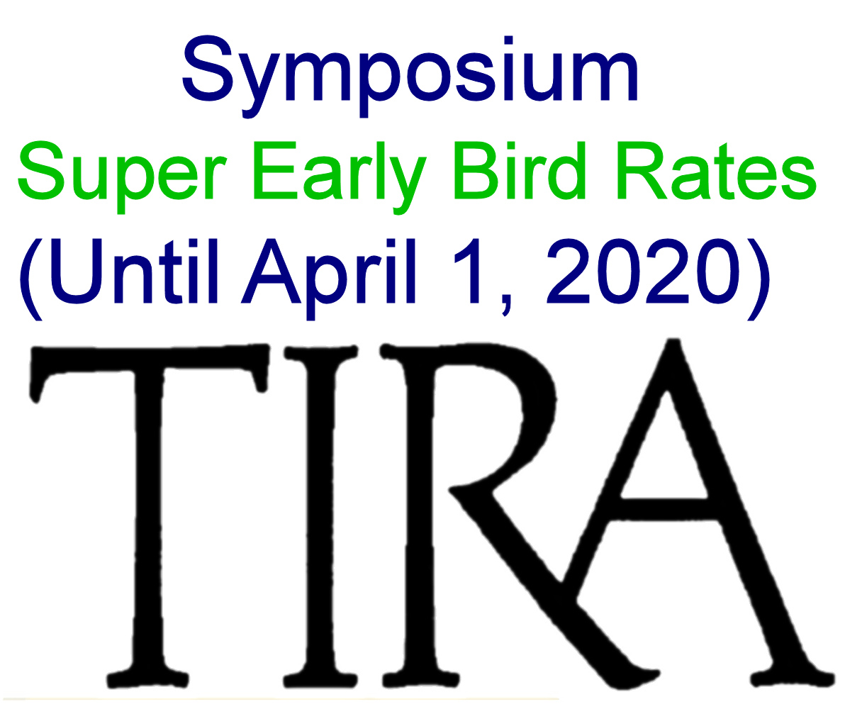 Symposium Super Early Bird