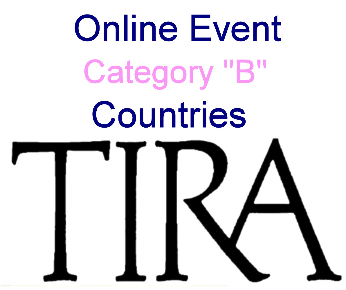 "Cat ""B"" -  Online Event - September 2021"